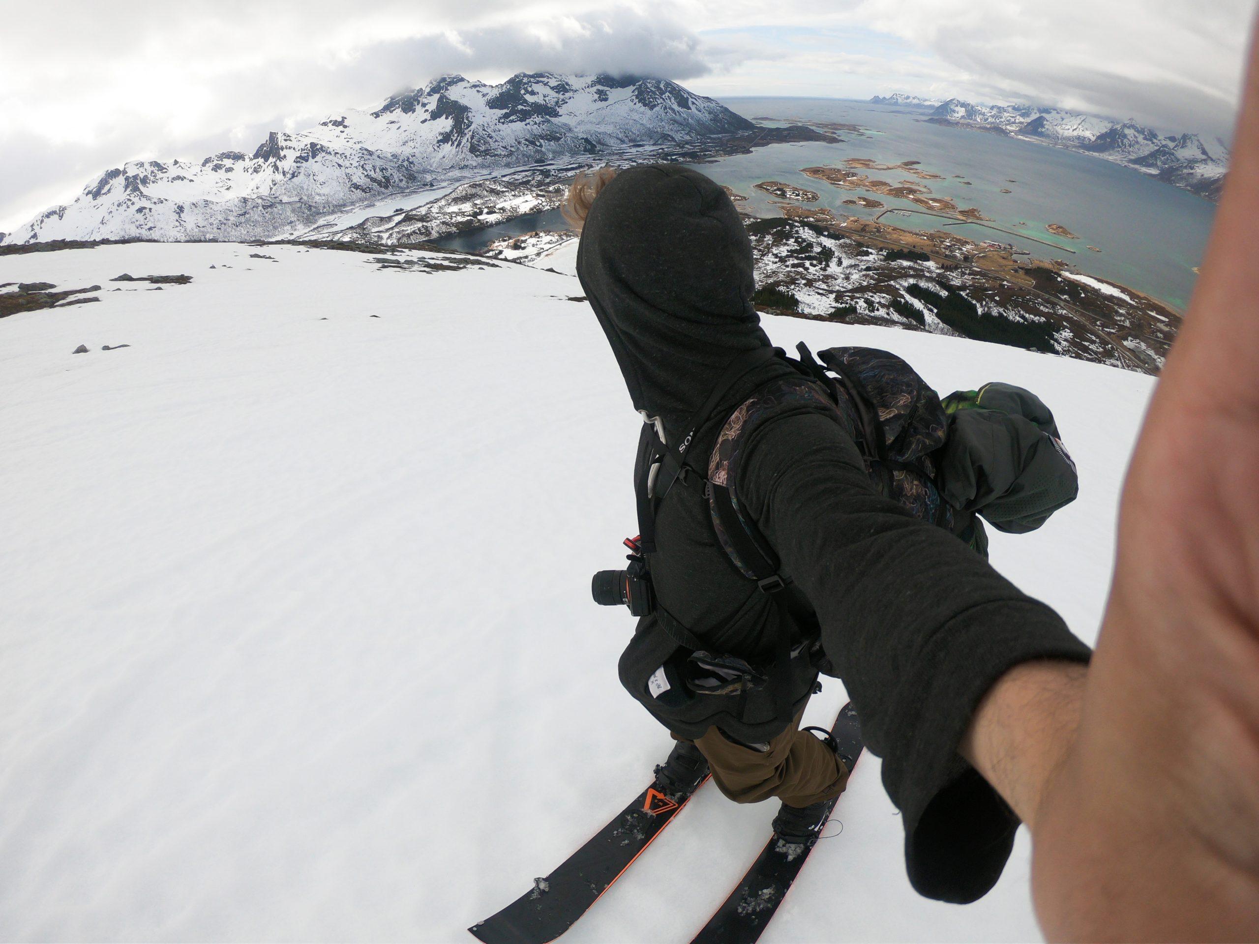 Lofoty: skialpinizmus
