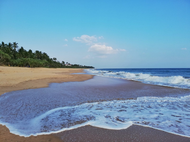 srí lanka: pláž