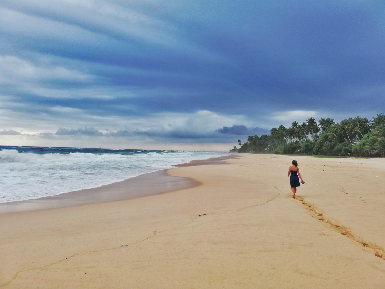 srí lanka: okolité pláže
