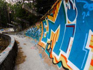 Sarajevo: Olympijská bobová dráha