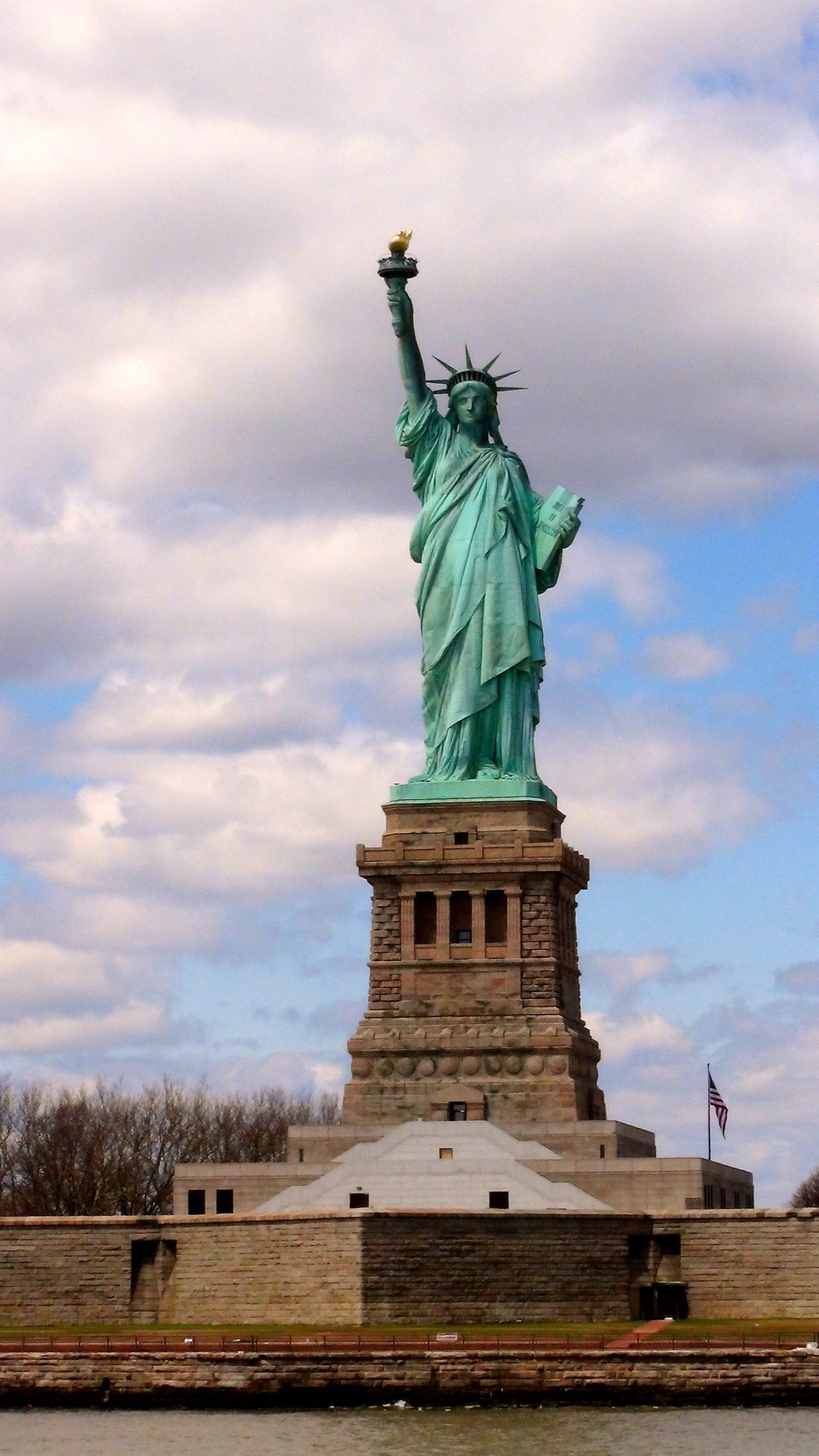 USA: New York: socha slobody